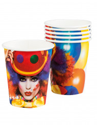 Partybecher clown 25 cl bunt