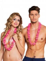 Halsketten Hawaii 24 Stück rosa