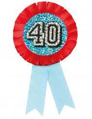 Medaille 40. Geburtstag