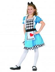 Alice Kostüm für Mädcehn