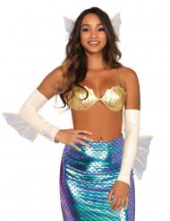 Meerjungfrauen Kostümzubehör für Damen