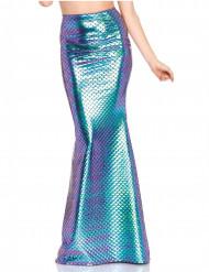 Meerjungfrau Rock lang für Damen