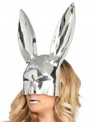 Kaninchen Maske Chrom