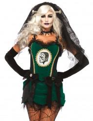 Monster-Braut Damenkostüm für Halloween