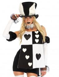 Sexy Spielkarten-Kostüm für Damen