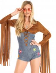 Sexy Hippie Kostümbody für Damen
