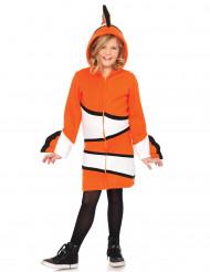 Anemonenfisch-Kostüm für Kinder orange-weiss