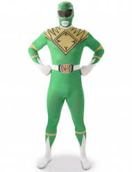 Power Rangers™ zweite Haut Kostüm grün