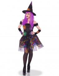 Hexenkostüm Spinnenfrau Kostüm für Damen