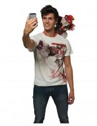 Lustiges-Shirt Selfie Clown für Erwachsene