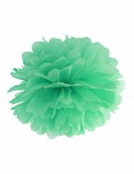Papier Pompons 25 cm mintgrün