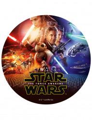 Star Wars VII™ Tortenbild Zuckerplatte Lizenzware 20cm