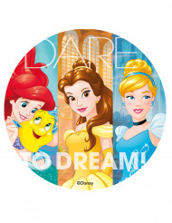 Disney Prinzessinnen™-Tortenbild Zuckerplatte Lizenzware 20cm