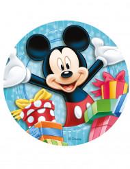Zuckerscheibe mit Mickey-Bild für Torten 20 cm