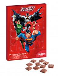 Justice League™ Adventskalender Schokolade 50g