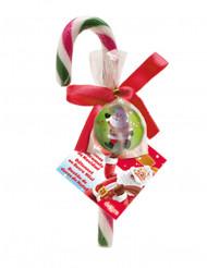 Zuckerstange Weihnachten mit Flummi bunt