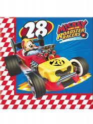 Mickey & Donald™-Papier Servietten 33x33cm