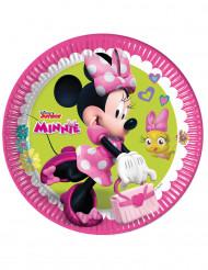 Minnie Maus™ Partyteller 8 Stück bunt 23 cm