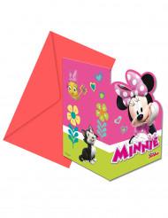Minnie Maus™-Einladungen und Umschläge jeweils 6 Stück