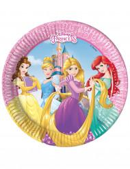 8 Pappteller Disney™ Prinzessin 20cm