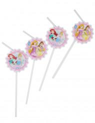 6 Strohhalme Disney™ Prinzessinnen