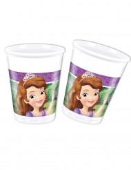8 Plastiktrinkbecher 20cl Prinzessin Sofia die Erste™