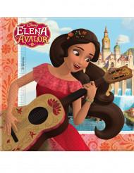 Elena Avalor™-Papier Servietten 33x33cm