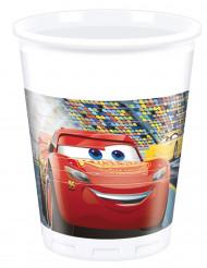 Cars 3™-Trinkbecher Kindergeburtstag Tischzubehör 8 Stück bunt 200ml