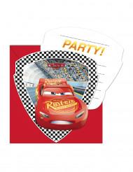 Cars™ Einladungskarten mit Umschlägen bunt 6 Stück