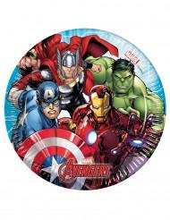 Avengers™-Pappteller 8 Stück bunt 20 cm