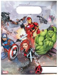 Avengers™-Partytüten 6 Stück bunt