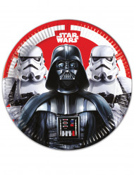 Star Wars™ Pappteller 8 Stück bunt 23cm