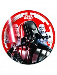 Star Wars™ Pappteller 8 Stück bunt 20cm