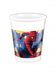 Spiderman™-kunststoffbecher 8 Stück bunt 20cl