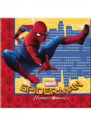 Spiderman™-Papier Servietten 33x33cm