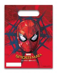 Spiderman™-Geschenktüten 6 Stück bunt