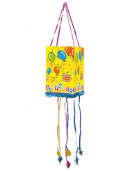 Piñata mit Luftballon-Motiv