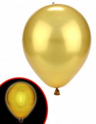 2 Goldene LED-Ballons von Ilmooms®