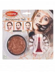 Halloween Make-up Mund für Erwachsene