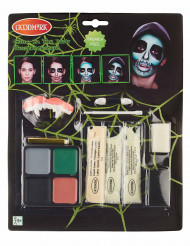 Halloween Skelett Make-up für Erwachsene