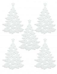 Weihnachtsbaum-Aufkleber Dekoration 5 Stück