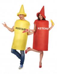 Senf- und Ketchup Kostüm