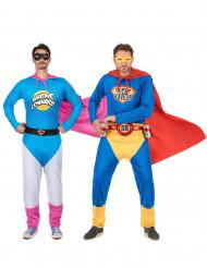 Kostüm Super Trinker und Super Blödmann