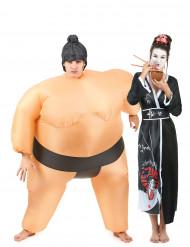 Paarkostüm Sumo und Geisha!