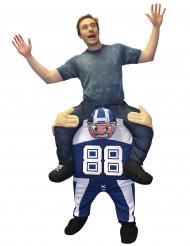Ausgestopftes Carry-Me Football-Spieler Kostüm