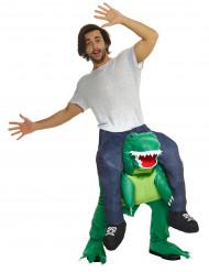 Aufblasbares Carry-Me Dinosaurier bunt