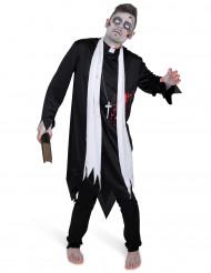 Zombie Priesterkostüm für Herren