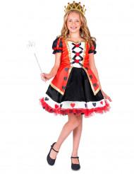 Herzkönigin - Kostüm für Mädchen