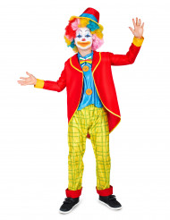 Zirkus-Clown-Kinderkostüm für Jungen bunt