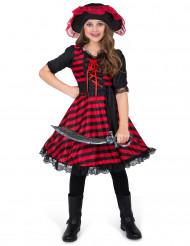 Piratin Kostüm für Mädchen